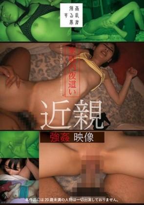 【モザ有】 家庭内夜這い 近親強姦映像(SUJI-101)