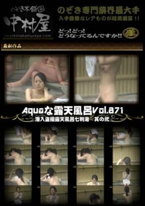 【無修正】 Aquaな露天風呂 Vol.871 潜入盗撮露天風呂七判湯 其の弐