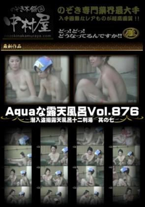 【無修正】 Aquaな露天風呂 Vol.876 潜入盗撮露天風呂十二判湯 其の七