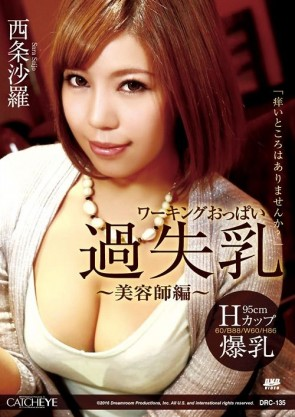 CATCHEYE Vol.135 ワーキングおっぱい過失乳 ~美容師編~ : 西条沙羅