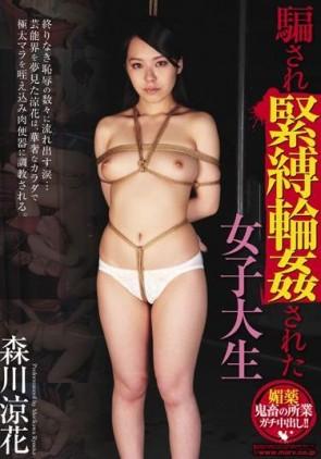 【モザ有】 騙され緊縛輪姦された女子大生 森川涼花