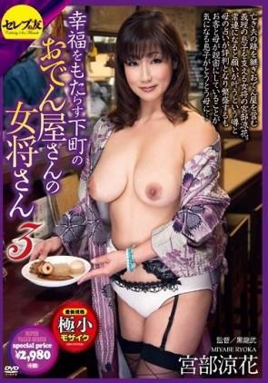 【モザ有】 幸福をもたらす下町のおでん屋さんの女将さん 3 宮部涼花