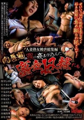 【モザ有】 人妻熟女被虐総集編 肉辱鬼の罠に嵌まり込んだ 蜜壺奴隷たち