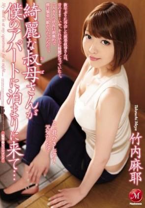 【モザ有】 綺麗な叔母さんが僕のアパートに泊まりに来て… 竹内麻耶