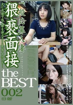 【モザ有】 一般応募人妻 猥褻面接 the BEST 002