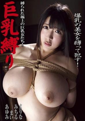 【モザ有】 巨乳縛り 縛られた極上の巨乳女たち!