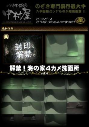 【無修正】 解禁 海の家4カメ洗面所 Vol.14