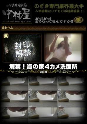 【無修正】 解禁 海の家4カメ洗面所 Vol.16