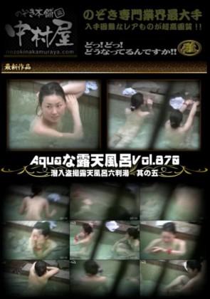 【無修正】 Aquaな露天風呂 Vol.870 潜入盗撮露天風呂六判湯 其の五