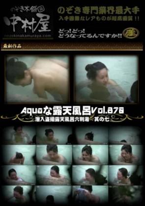 【無修正】 Aquaな露天風呂 Vol.870 潜入盗撮露天風呂六判湯 其の七