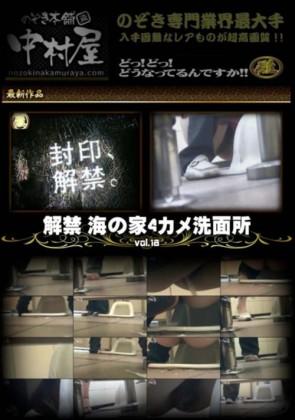 【無修正】 解禁 海の家4カメ洗面所 Vol.18