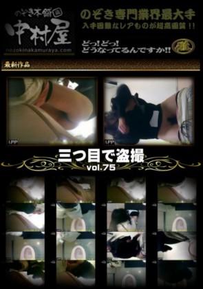 【無修正】 三つ目で盗撮 Vol.75