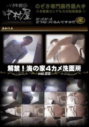 【無修正】 解禁 海の家4カメ洗面所 Vol.22