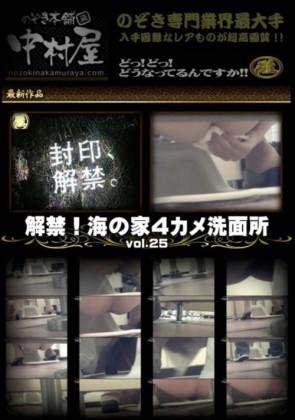 【無修正】 解禁 海の家4カメ洗面所 Vol.25