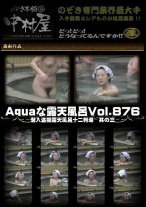【無修正】 Aquaな露天風呂 Vol.876 潜入盗撮露天風呂十二判湯 其の三