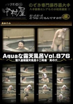 【無修正】 Aquaな露天風呂 Vol.876 潜入盗撮露天風呂十二判湯 其の六