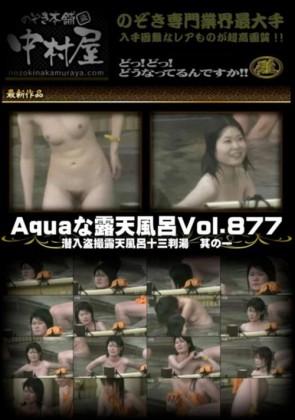 【無修正】 Aquaな露天風呂 Vol.877 潜入盗撮露天風呂十三判湯 其の一