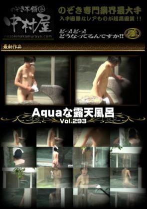 【無修正】 Aquaな露天風呂Vol.293